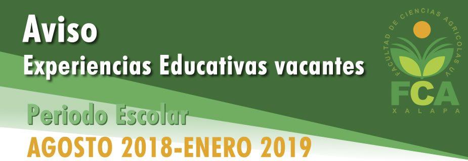 Uv Convocatoria 2019: Facultad De Ciencias Agrícolas
