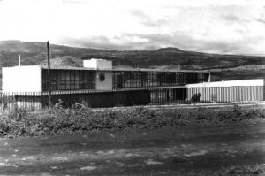 Fachada Instituto y Museo de Antropología