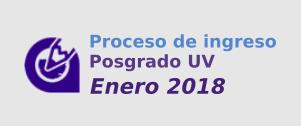 POSGRADO ENERO 2018