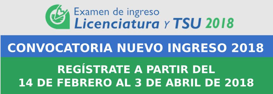 Uv Convocatoria 2019: CONVOCATORIA DE INGRESO A LICENCIATURA Y TSU 2018