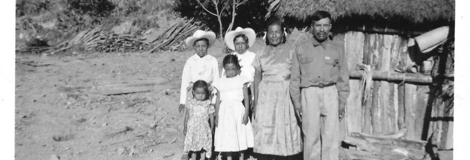 Familia San Juan Achiutla 1952
