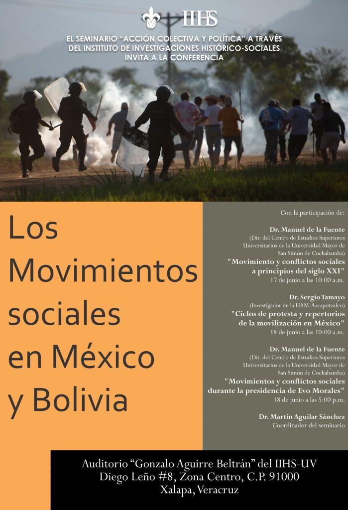 Movimientos sociales Mexico y Bolivia