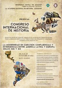 V Encuentro Internacional AHILA 2016