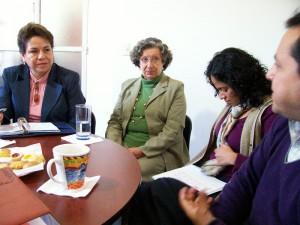 Diana Eugenia González Ortega, Alba Tirado Cordón, Shantal Meseguer G., Sergio Téllez Galván