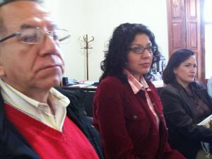 Gilberto Domínguez Estrada, Ana María Salazar Vázquez, Ma. de la Paz Reducindo Sánchez