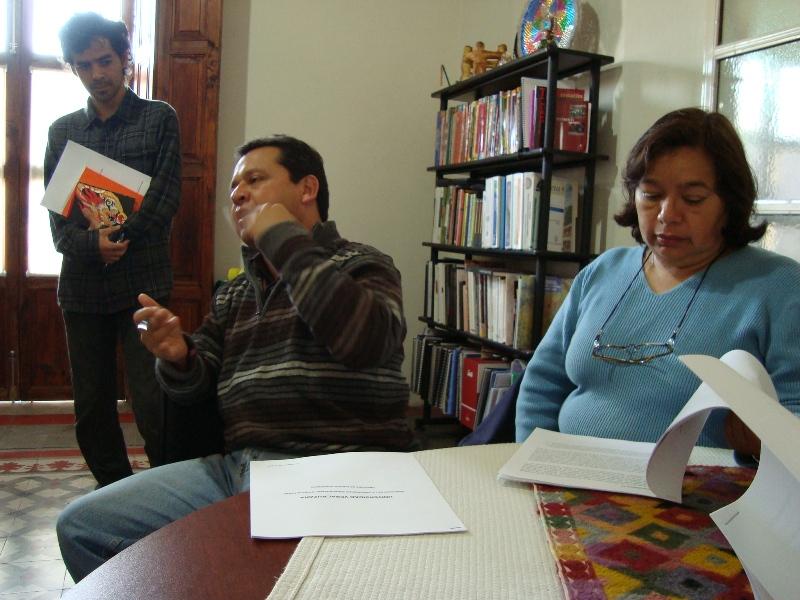 Cuauhtémoc Jiménez, Sergio Téllez, Rosalba Rodríguez