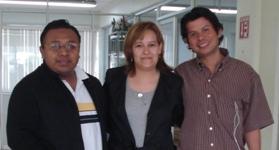 Ascención Sarmiento Santiago, Ma. Isabel Miranda Landa, Jesús Alberto Martell León, Universidad Veracruzana