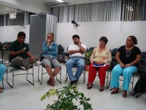 Karina Alely Bautista González y Veronica Munier Jolain (ambas de la Sede Selas, UVI), Candelario Trejo Flores (Contaduría SEA), Patricia Martínez Moreno (Contaduría y Administración)