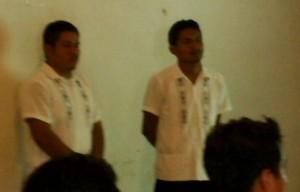 Edher Zico de los Santos Sanchez y Daniel Alfonso Ruiz Ticante, Universidad Veracruzana