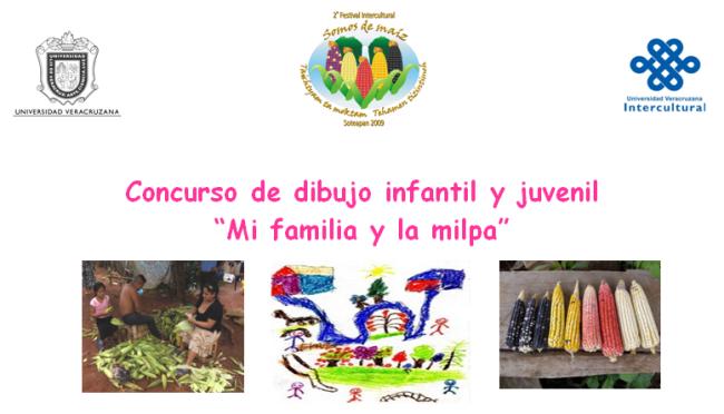 "Concurso de dibujo infantil y juvenil ""Mi familia y la milpa"""