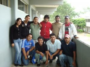 Vianey, Francisco, Jhon Silvers, José Eduardo, Carlos, Roberto Carlos, Andrés, Javier, Edgar y Luis Roberto