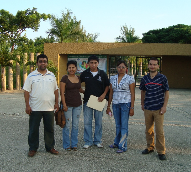 UEA Coatza. Carlos Castro, Zunev Cámara, Víctor Jesús Martínez, Buena Ventura Morales, Abel Terrazas, Universidad Veracruzana