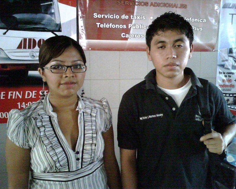 Buena Ventura Morales Martínez y Víctor Jesús Martínez Morales, Universidad Veracruzana