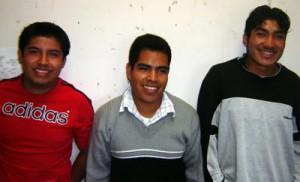 Gabriel Mazahua Ginés, Juan Javier Colohua Flores, Víctor Villa Sandoval, Universidad Veracruzana