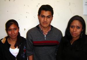 Marisela Cocotle Xicalhua, Malaquías Sánchez Rosales, Julia Tentzohua Sánchez, Universidad Veracruzana