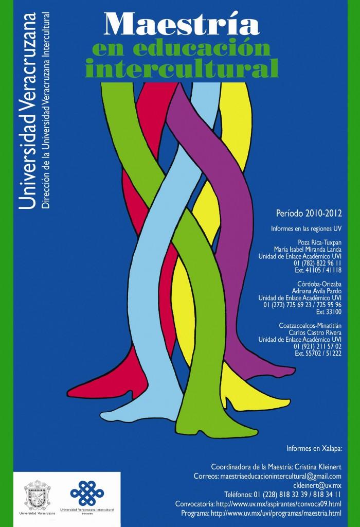 Maestría en Educación Intercultural, Período 2010-2012