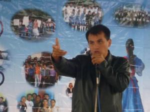 """""""Primer Foro Regional: Identidades del Maíz"""", en El Arenal, Mpio. De Espinal, Ver., 26nov2009"""