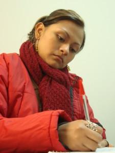Enero de 2010. En el Curso de Cecilia Bixio