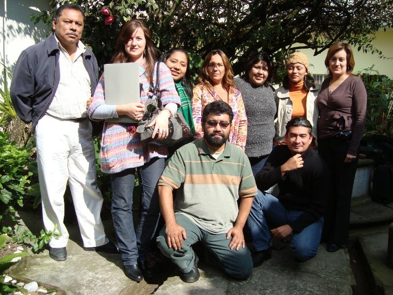 Enero 2010. Grupo del Curso de Cecilia Bixio. Último día de la 1ra Generación