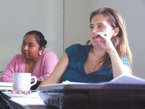 Septiembre 2008. En el Curso de Yolanda Jiménez.