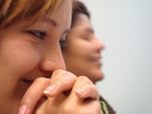 Marzo de 2009. En el Seminario Metodológico con Yolanda Jiménez.
