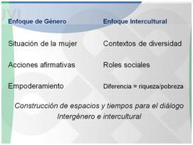 Intersección identitaria: aprender durante la diferencia de la diversidad