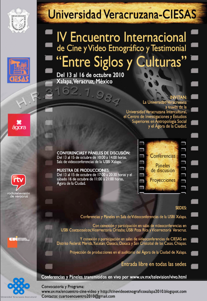 IV_EncuentroInternacional_CineVideo_Oct-13al16_Cartel