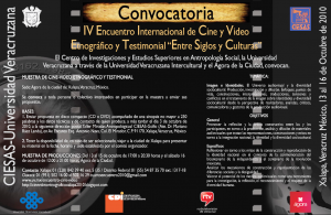 IV_EncuentroInternacional_CineVideo_Oct-13al16_Convocatoria