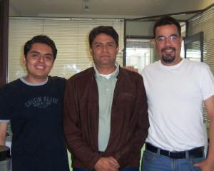Manuel Sol Rodríguez, Ricardo Flores Rodríguez, Gerardo Ávila Pardo, Universidad Veracruzana