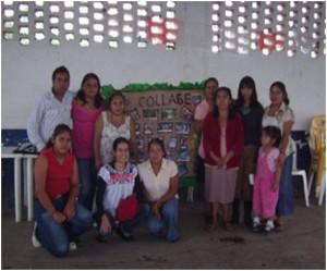 El grupo de Mujeres de Oportunidades (Foto: Liliana López)