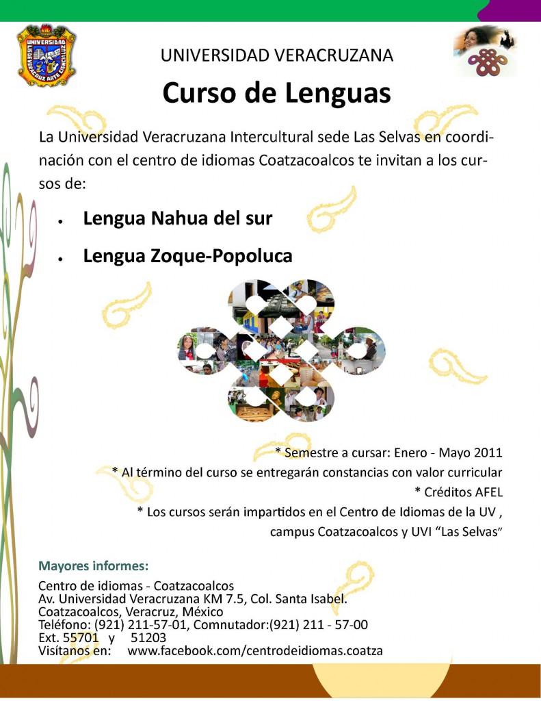 CursoLenguas-NahuaZoquePopoluca