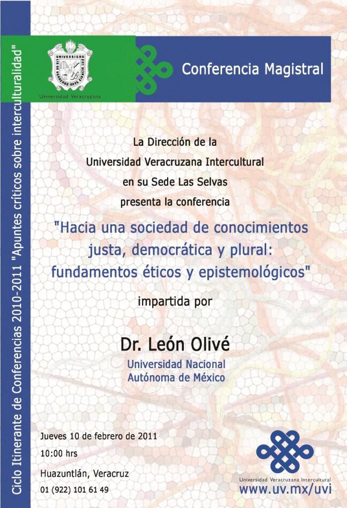 LeonOlive_CartelConferencia