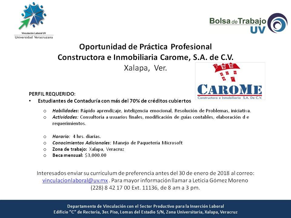Oportunidades de servicio social pr cticas profesionales for Servicio de empleo