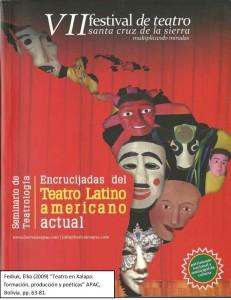 Encrucijadas del teatro Latinoamericano actual elka