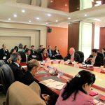 Participantes en Seminario Internacional sobre Cooperacion entre China y America Latina bajo el marco de APEC