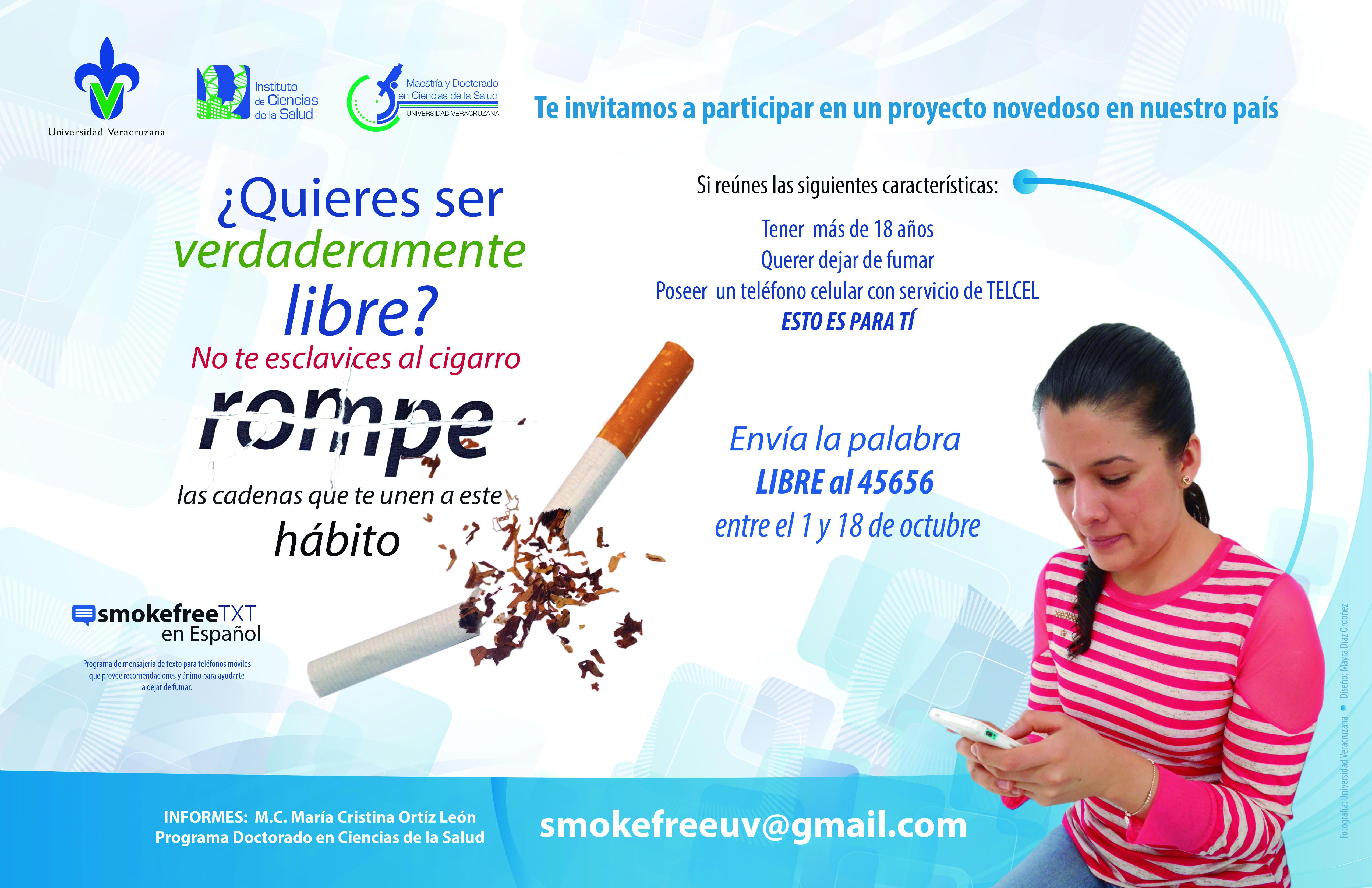 Dejarás a fumar y comenzarás a adelgazar