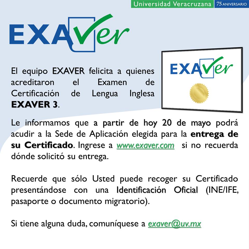 EXAVER2019