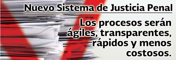 banner sistema penal acusatorio