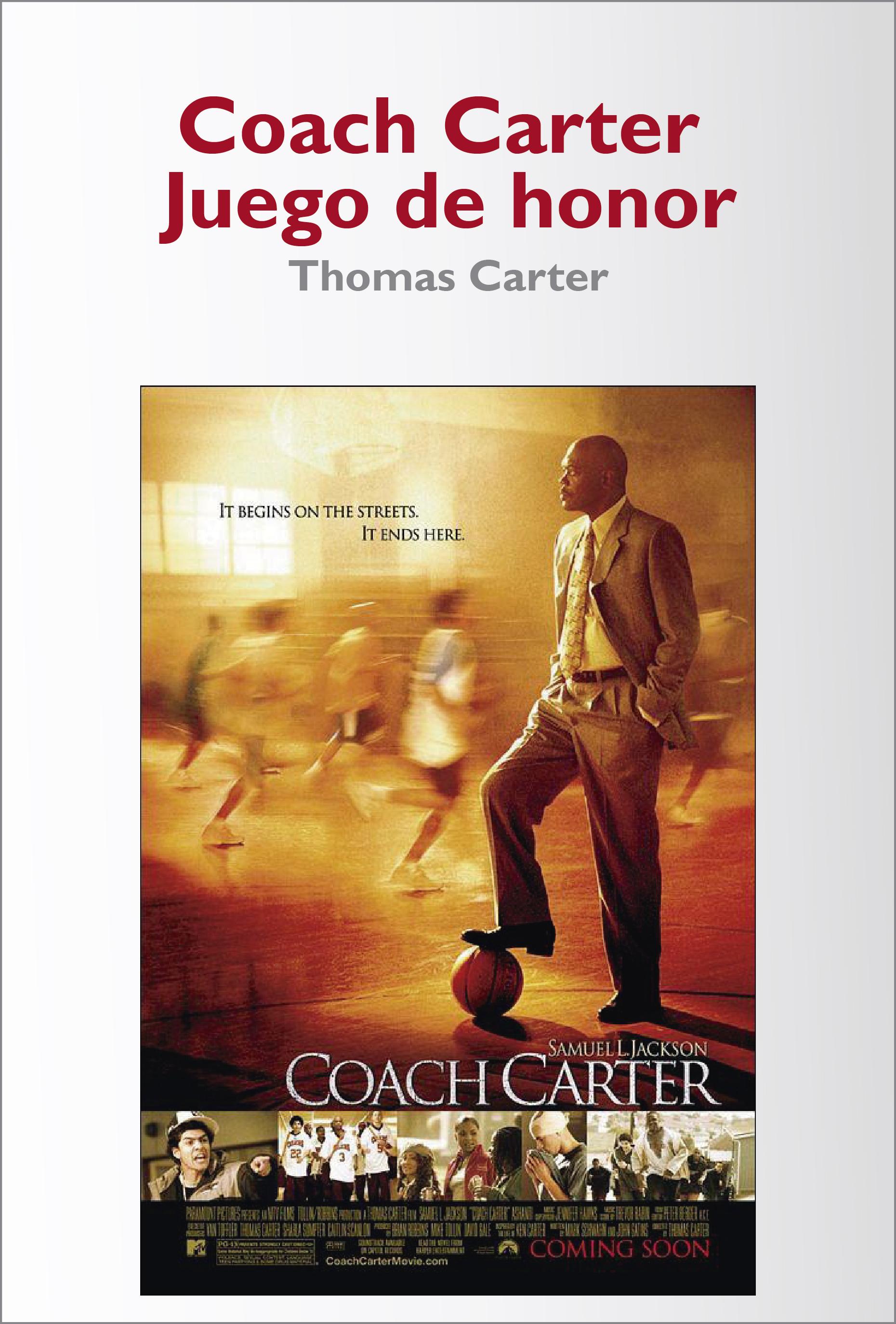 Coach Carter - Juego de Honor