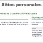 Sitios Web Personales
