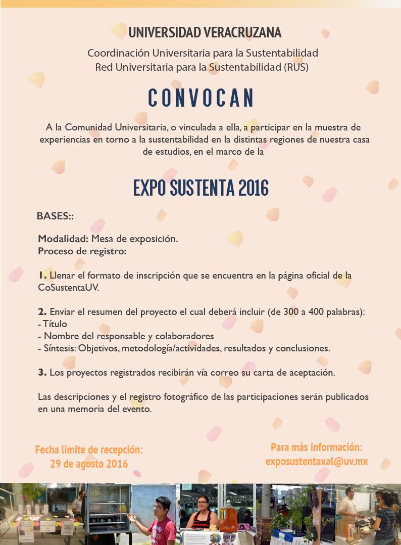 ConvocatoriaExpo2016-2 - Dirección General del Área Académica ...