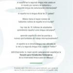 Versión Español Folleto 2013