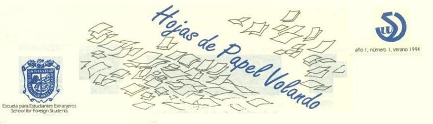 Hojas de Papel Volando - 1994