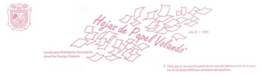 Hojas de Papel Volando - 1995
