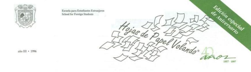 Hojas de Papel Volando - 1996