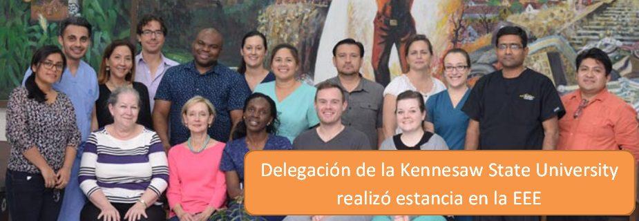 Delegación de la Kennesaw State University realizó estancia en la EEE