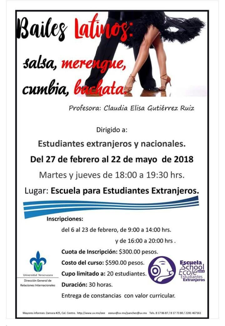 Bailes Latinos - EEE 2018