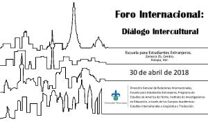 Cuadro: Foro Internacional dialogo Intercultural 2018
