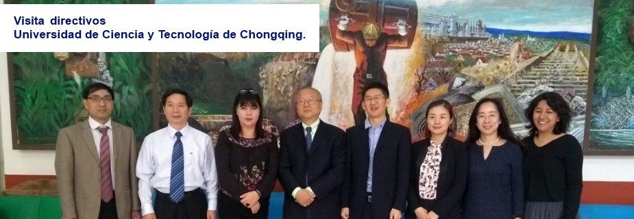 Visita directivos Universidad de Ciencia y Tecnología de Chongqing, China.