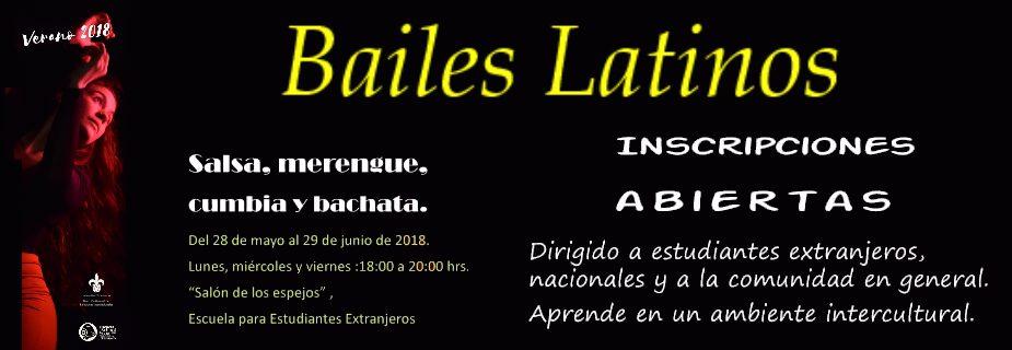 Banner: Taller de Bailes Latinos en la EEE